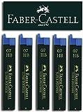 Faber-Castell SUPER-POLYMER Feinminen Etui (5 Dosen, 0,7 HB)