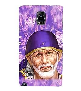 Fabcase Lord Sai Baba Abstract Designer Back Case Cover for Samsung Galaxy Note 4 :: Samsung Galaxy Note 4 N910G :: Samsung Galaxy Note 4 N910F N910K/N910L/N910S N910C N910Fd N910Fq N910H N910G N910U N910W8