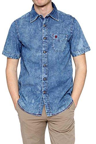 marlboro-classics-camisa-casual-para-hombre-turquesa-xl