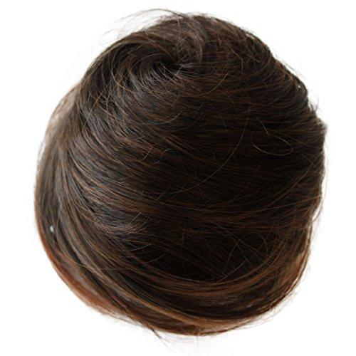 PRETTYSHOP Dutt Haarteil Zopf Haarknoten Hepburn-Dutt Haargummi Hochsteckfrisuren Div. Farben DC4