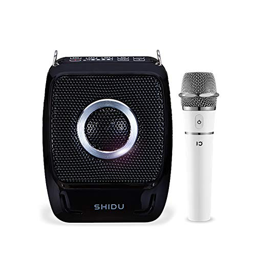 S92 25 Watt Mini amplificatore per voce portatile ricaricabile con amplificatore vocale con altoparlante portatile UHF compatto per karaoke, insegnanti, guide turistiche, istruttori