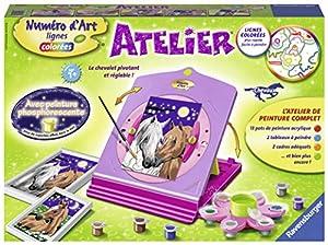 Ravensburger 4005556296958 - Taller número de Arte Caballos
