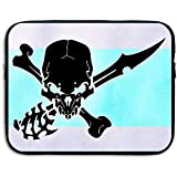 Custodia Horror Spooky Skull Laptop Custodia Custodia Cover Borsa Per Macbook Pro Macbook Air Asus Dell Lenovo Hp Samsung Sony