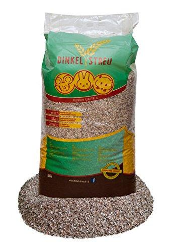 25 kg Dinkel Einstreu für alle Nager besonders Pfotenschonend