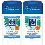 Kiss My Face Aluminum & Paraben Free Active Life Deodorant Stick