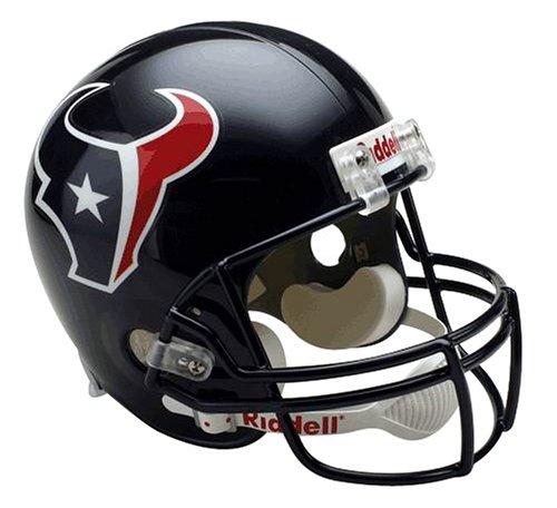 Riddell NFL Arizona Cardinals Deluxe Replica Fußballhelm, Herren,Unisex-Erwachsene, Damen, Houston Texans, Full Size
