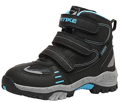 VITIKE Scarpe da Escursionismo Scarpe da Giungla a Piedi Trekking Leggeri Scarpe Sportive Esterne Scarpe da Arrampicata(Giallo-EU31)