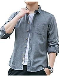 f6b51359d2 Amazon.it: camicia di pizzo - Grigio / Uomo: Abbigliamento