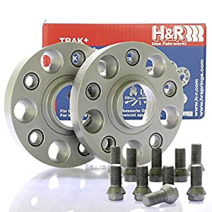 H&R DRA Spurplatten Spurverbreiterung Distanzscheibe 5x112 40mm // 2x20mm + Bremsenreiniger