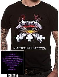CID Herren T-Shirt METALLICA - MASTER OF PUPPETS