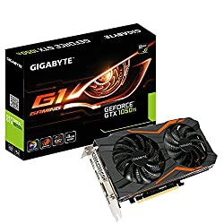 Gigabyte Geforce GTX 1050 Ti G1 Gaming 4G Graphics Card (GV-N1050TG1-4GD) PCI-E 3.0x16/4GB GDDR5/128-bit/HDMIx3/DP/Dual-Link DVI-D/With Back Plate