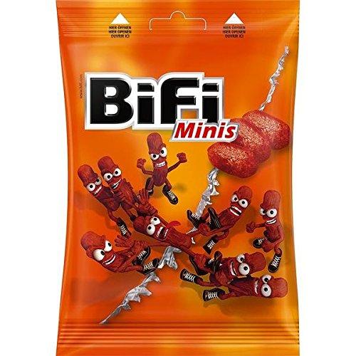 18 Beutel a 80g Bifi Minis Orginal Beutel frisch