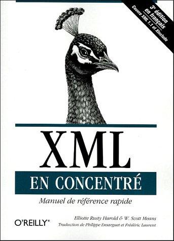 XML en concentré : Manuel de référence