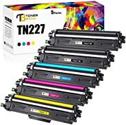 Toner Bank Compatible Toner Cartridge Replacement for Brother TN227 TN-227 TN227BK TN223 for Brother HL-L3210C