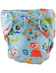 Couches de natation de bébé réglables réutilisables Nappes de bébé Coupe de natation étanches de bébé, # 14