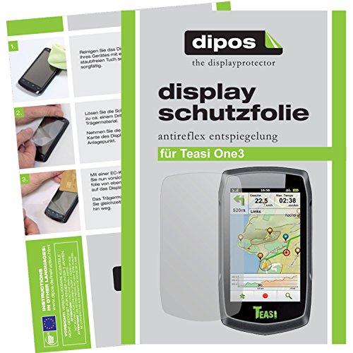 dipos I 3X Schutzfolie matt kompatibel mit Teasi One3 Folie Displayschutzfolie
