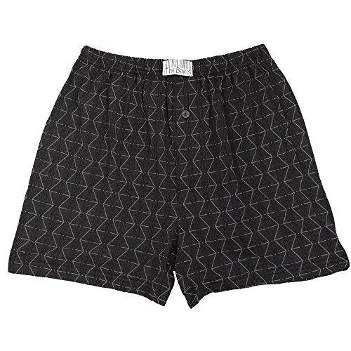6er Pack Boxershorts Herren mit Eingriff 100% Baumwolle Farben können variieren - 2