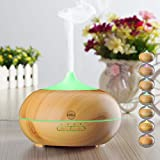 KINGA Aroma Diffuser 300ML Essential oil Diffuser Electric Ultrasonic Humidifier Aromatherapy Cool Mist Humidifier