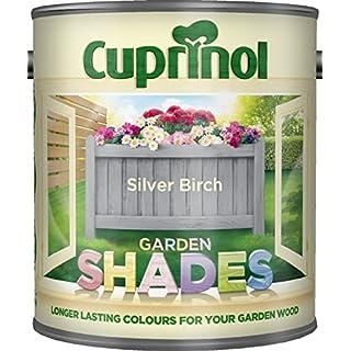 New 2015 Cuprinol Garden Shades Silver Birch 1L