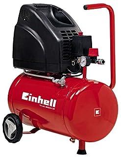 Einhell - TH-AC 200/24 OF - Compresor, 1100 W, 240 V, motor sin aceite, manómetro y acoplamiento rápido, llave de desagüe (ref. 4020515) (B00LALVTU8) | Amazon Products