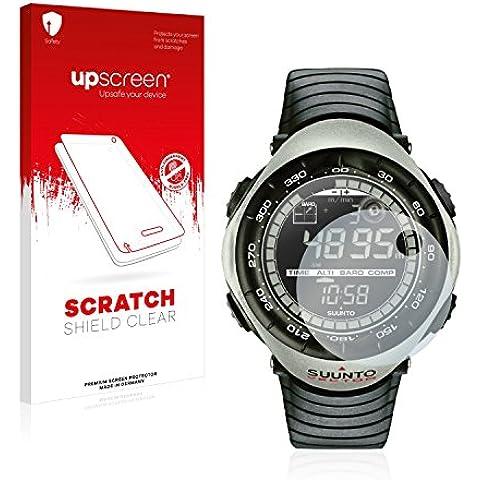 upscreen Scratch Shield Pellicola Protettiva Suunto Vector Khaki Protezione Schermo – Trasparente, Anti-Impronte