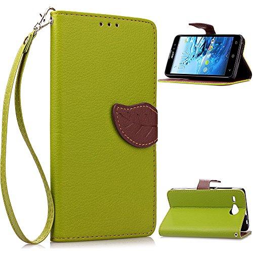 Compatible For Acer Liquid Z520 Wallet Funda,Carcasa PU Leather Cuero Flip Cover...