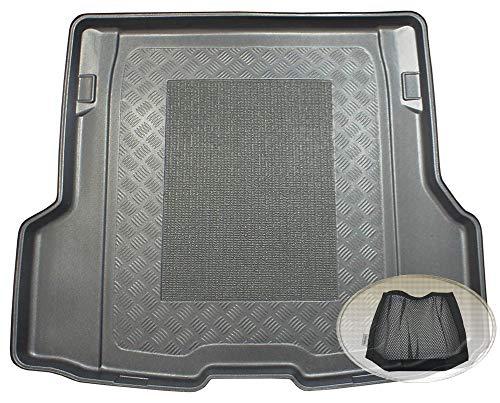 ZentimeX Z3022719 Antirutsch Kofferraumwanne fahrzeugspezifisch + Klett-Organizer (Laderaumwanne, Kofferraummatte)