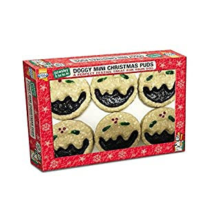 armitage mini doggy christmas puds, 50 mm, pack of 6 Armitage Mini Doggy Christmas Puds, 50 mm, Pack of 6 51RDI1CriDL