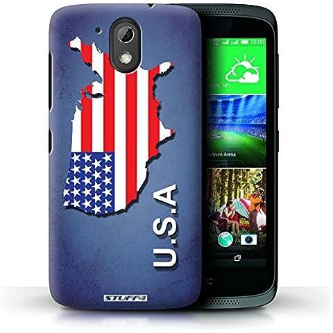 Carcasa/Funda STUFF4 dura para el HTC Desire 526G+ / serie: Naciones bandera -