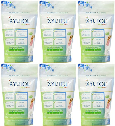 6-PACK-Xylitol-Xylitol-Sweetener-Pouch-250g-6-PACK-BUNDLE