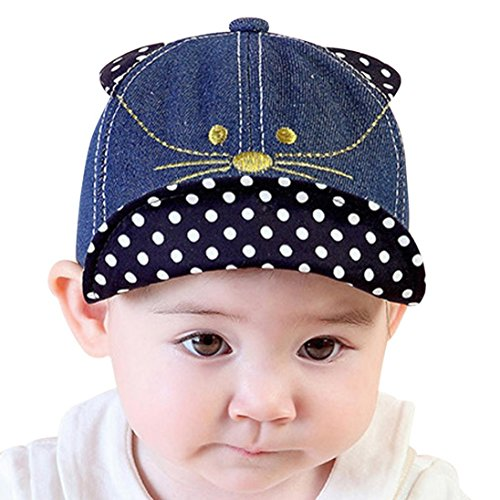 QinMM Sombrero y Gorra de Oreja de Gato Lindo de Las Niñas y Niños Bebé c7b750d40c6