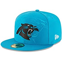 New Era Nfl Sideline 59Fifty Carpan Otc - Gorra Línea Carolina Panthers para hombre, color azul, talla 7 1/8