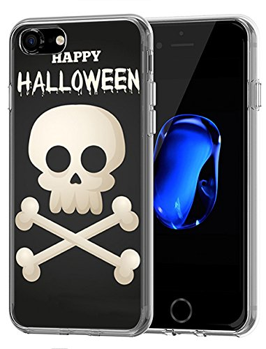 Lovely stoßfest Fall für Apple iPhone 7 (2016)/iPhone 8 (2017) Happy Halloween Serie, Design-10