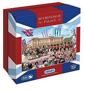 Gibsons Puzle con Caja de Regalo Buckingham Palace, 500 Piezas