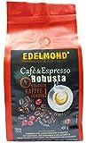 Edelmond Robusta Kaffee, eine private Trommel - Langzeitröstung für beste Röstaromen. Säurearm für Espresso oder Café Creme (450g)
