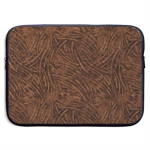 Victorinox-aktentasche Aus Leder (Disorderly Line 13-15 Inch Laptop Sleeve Bag Portable Dual Zipper Case Cover Pouch Holder Pocket Tablet Bag,Water Resistant,Black,13inch)