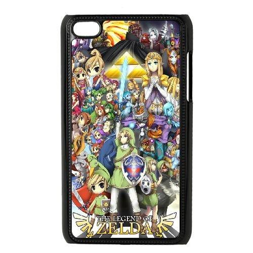 Weukk The legend of Zelda iPod Touch 4Cases, DIY case for iPod Touch 4The legend of Zelda, DIY The legend of Zelda Phone case