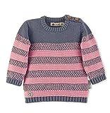 Sterntaler Strickpullover für Mädchen mit Streifenmuster, Alter: 9-12 Monate, Größe: 80, Rosa, 5661970
