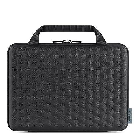 Belkin Air Protect Slim Always-On Tasche (geeignet für 11 Zoll Notebook) schwarz