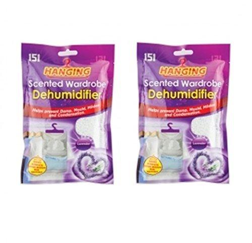 Lot 2Vela perfumada-Deshumidificador armarios