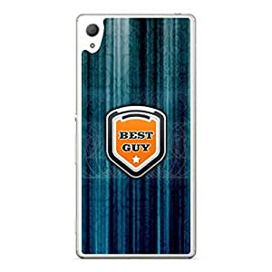 a AND b Designer Printed Mobile Back Cover / Back Case For Sony Xperia Z4 (SON_Z4_2675)