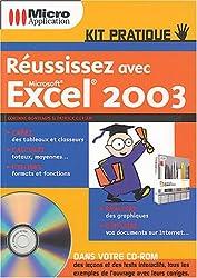 Réussissez avec Microsoft Excel 2003 (1Cédérom)