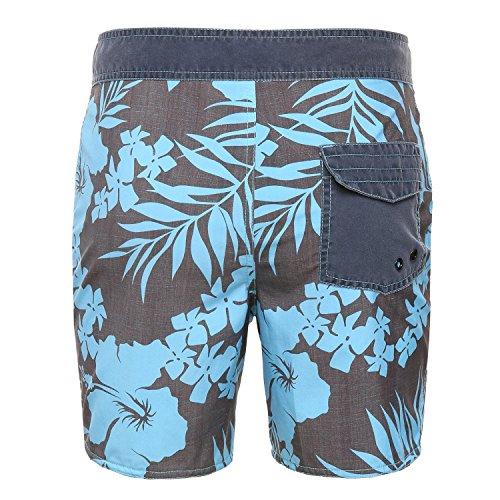 Rehall Herren Kailua Swimshorts Blue Flowers