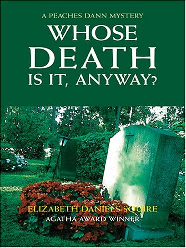 Whose Death Is It, Anyway? (Wheeler Large Print Book Series)