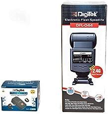 Digitek DFL-044 Flash with Inbuilt 2.4G Receiver and DRM-002 Transmitter