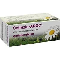 ADCG Cetirizin Tabletten, 100 St. preisvergleich bei billige-tabletten.eu