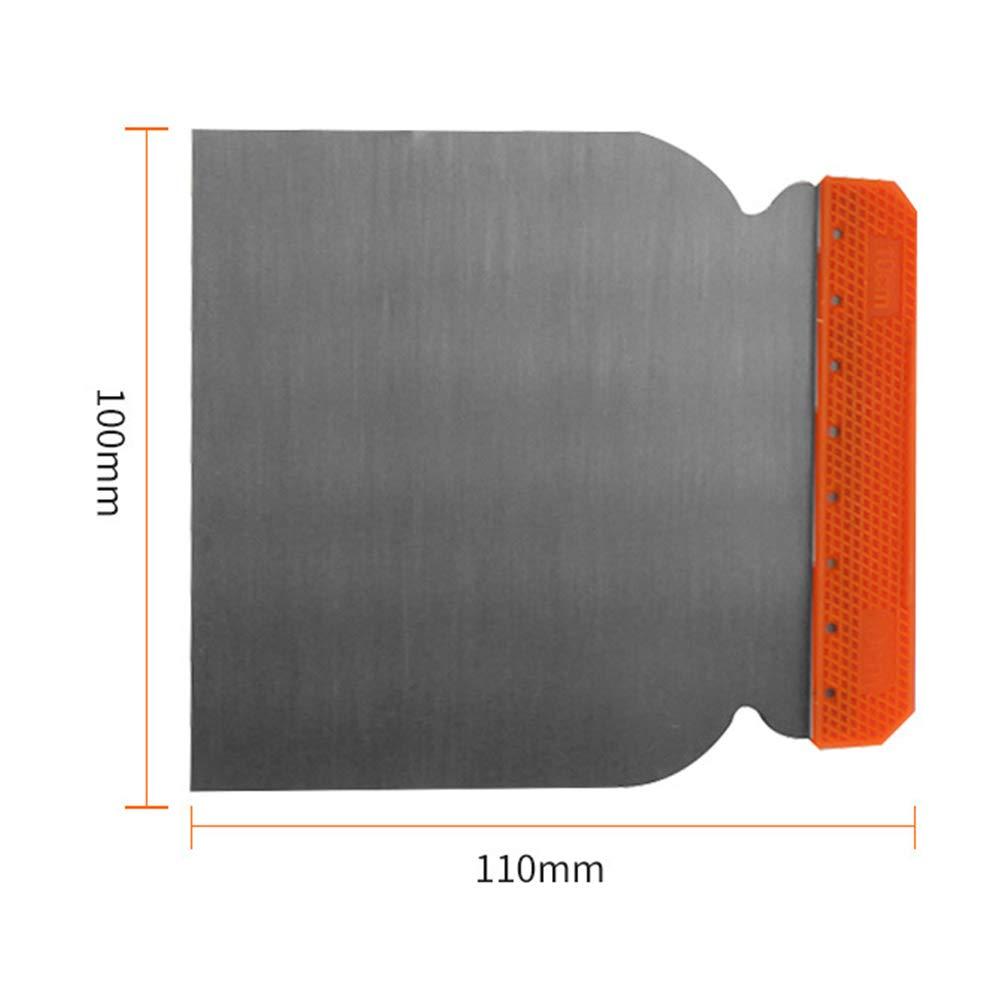 Juego de esp/átulas para masilla duraderas de acero al carbono 4 unidades para reparaci/ón