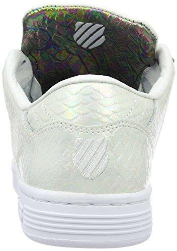 K-Swiss Lozan Iii Tt Reptile, Sneakers Basses Femme Blanc (White/Black 102)