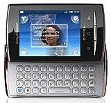 Sony Ericsson Xperia X10 mini pro Smartphone (6,6 cm (2,6 Zoll) Display, QWERTZ-Tastatur, Android, WLAN, GPS, 5 Megapixel Kamera) rot