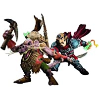 World of Warcraft: SERIE 8: GNOME ROGUE: BORDE SPANNERCRANK VS. KOBOLD MINER: Snaggle 2-PACK